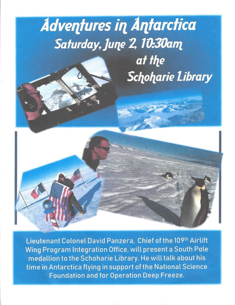 Poster for South Pole Medallion